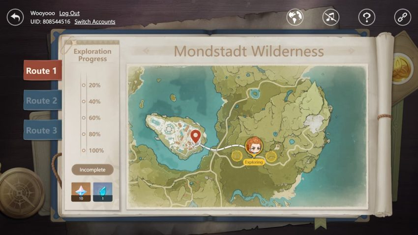 How to complete Aloy's Exploration Journal web event in Genshin Impact