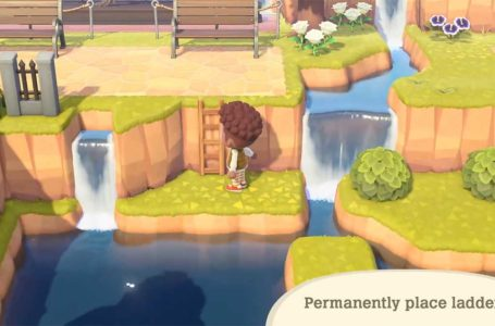 How to make and use ladders in Animal Crossing: New Horizons