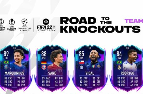 FIFA 22: How the UCL Road to the Knockouts Promo works