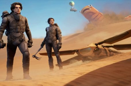 Dune skins are coming to Fortnite, according to a leak