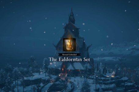 How to unlock the Ealdorman Set in Assassin's Creed Valhalla Discovery Tour: Viking Age