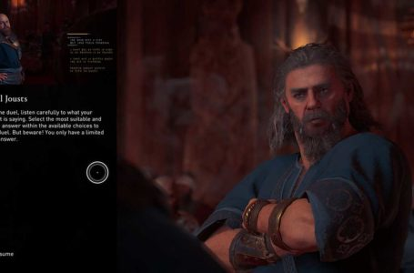 How to win the Oaths and Honour Verbal Joust in Assassin's Creed Valhalla Discovery Tour: Viking Age