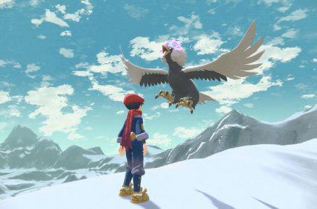 Pokemon Legends: Arceus tweet shares an ominous tease for a new Pokemon
