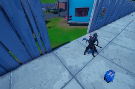How to deploy a Ghost Trap in Fortnite Chapter 2 Season 8