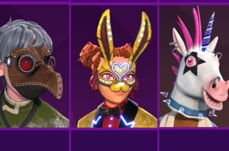 All masks in the Holo-ween event Mask Shop in Knockout City