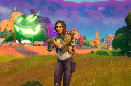 Where to find a Pumpkin Launcher in Fortnite for Fortnitemares 2021