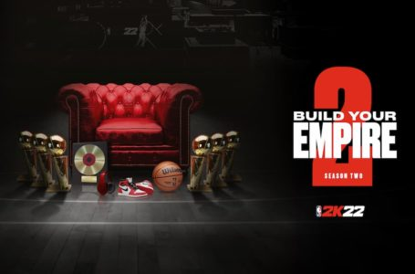 NBA 2K22 lets players build an empire when Season 2 launches on October 22