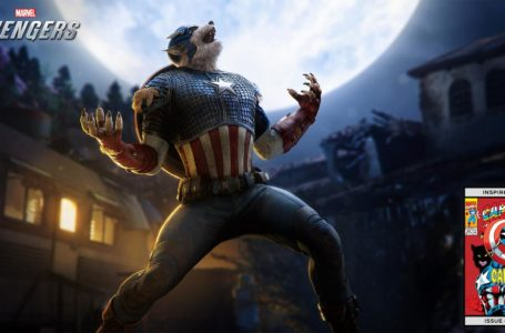 Marvel's Avengers will launch a Captain America werewolf skin tomorrow