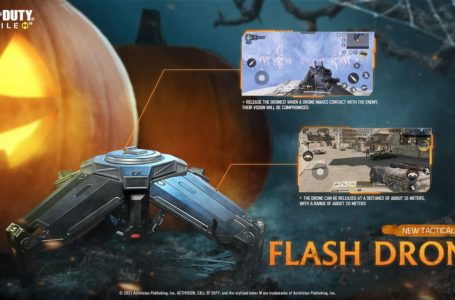 How to get Flash Drone tactical equipment in Call of Duty: Mobile Season 9