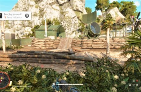 How to get the Toxic Influence achievement/trophy in Far Cry 6