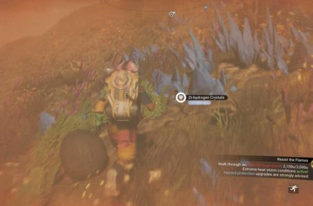 How to complete Resist The Flames in No Man's Sky Expedition 4: Emergence
