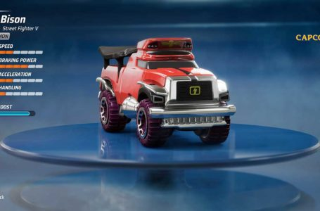 How to get M. Bison in Hot Wheels Unleashed