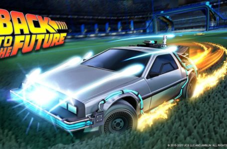 How to get the DeLorean Time Machine in Rocket League