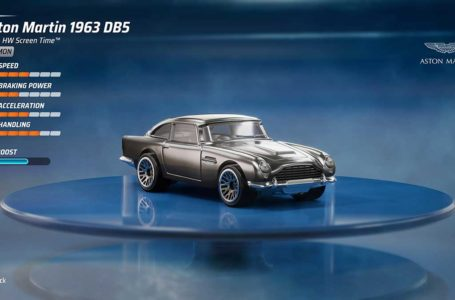 How to get the Aston Martin DB5 1963 in Hot Wheels Unleashed