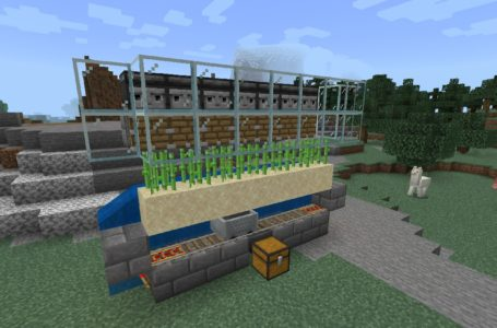 How to make an automatic sugar cane farm in Minecraft