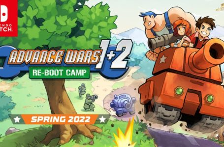 Advance Wars 1+2 : Re-Boot Camp has been delayed to Spring 2022