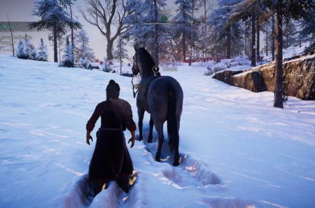 What happens if Gunnhilda rides a horse in Into the West in Assassin's Creed Valhalla Discovery Tour: Viking Age?