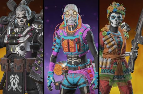 All Día de los Muertos Sale Legend skins and cosmetics in Apex Legends