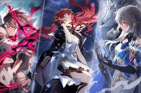 All playable characters in Honkai: Star Rail
